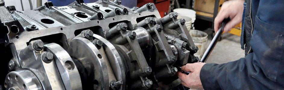 Капитальный ремонт дизеля спецтехники