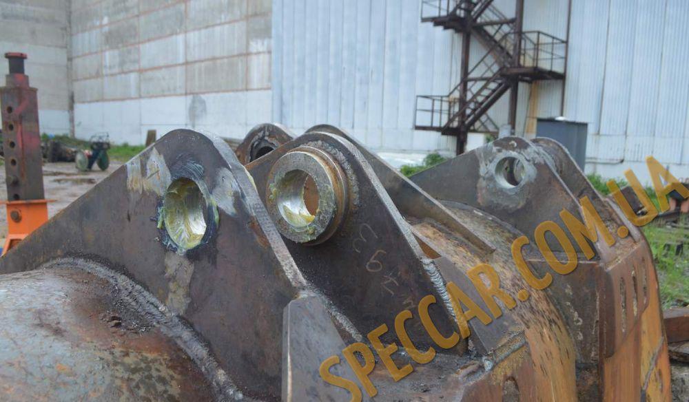 Ковш фронтального погрузчика ремонт