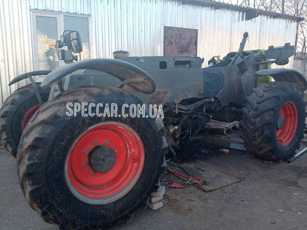 Ремонт переломов и трещин в раме трактора