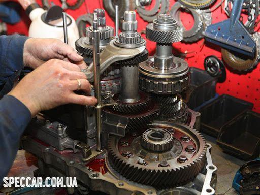 Ремонт КПП грузовиков Украина